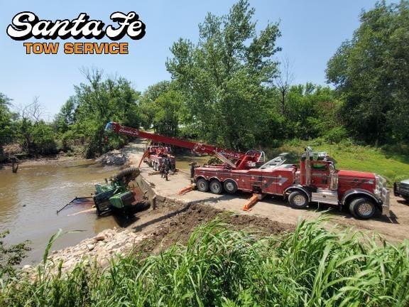 Farm Equipment Towing